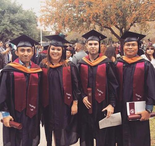 The Four FNP Graduates