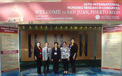 A group of Texas A&M International University (TAMIU) graduate nursing students and their professor presented nursing research at an international conference in San Juan, Puerto Rico this July.