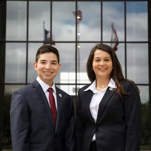 Antonio Jimenez and Daniela Ortiz