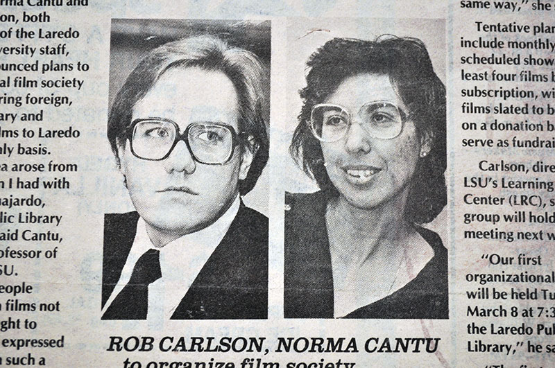 Left to Right: Rob Carlson and Dr. Norma Cantu.