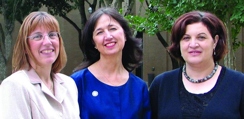 Lisa Flores, Conchita Hickey, and Lola Orellano-Pérez