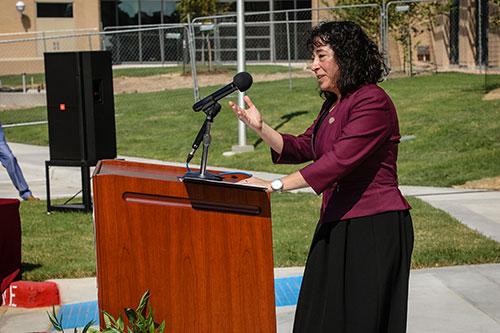 Board Chair Elaine Mendoza