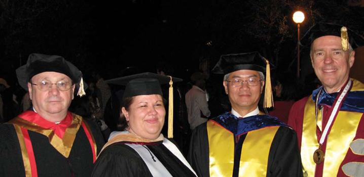 Graduation photo of Christine Bernardas.