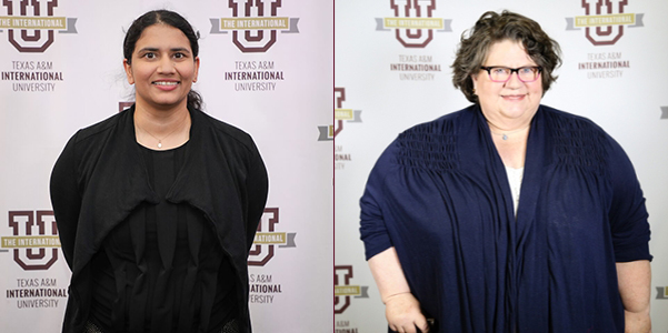 Pictured left: Dr. Puneet Gill; Right: Kimber J. Palmer