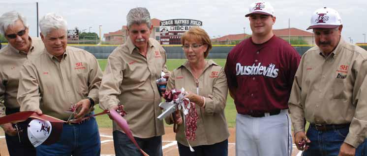 Jorge Haynes Baseball Field dedication