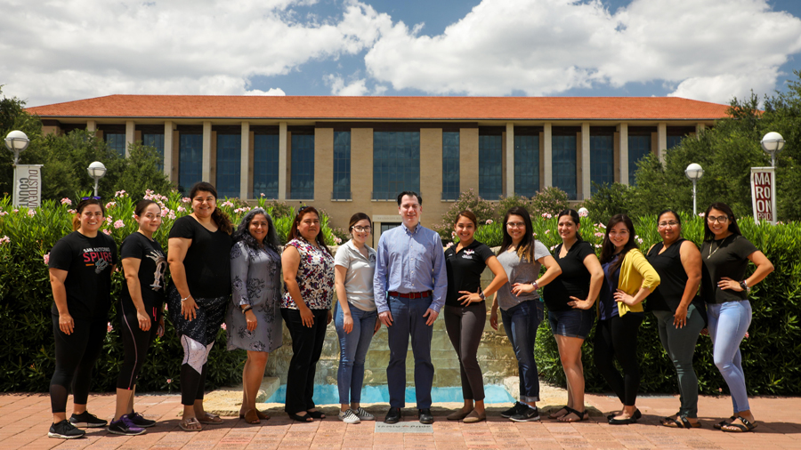 TAMIU students are completing a 90-hour service-learning internship at various locations this summer as part of their Multidisciplinary Studies course.
