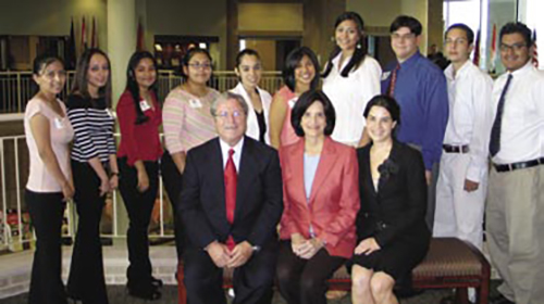Sanchez Scholar recipients