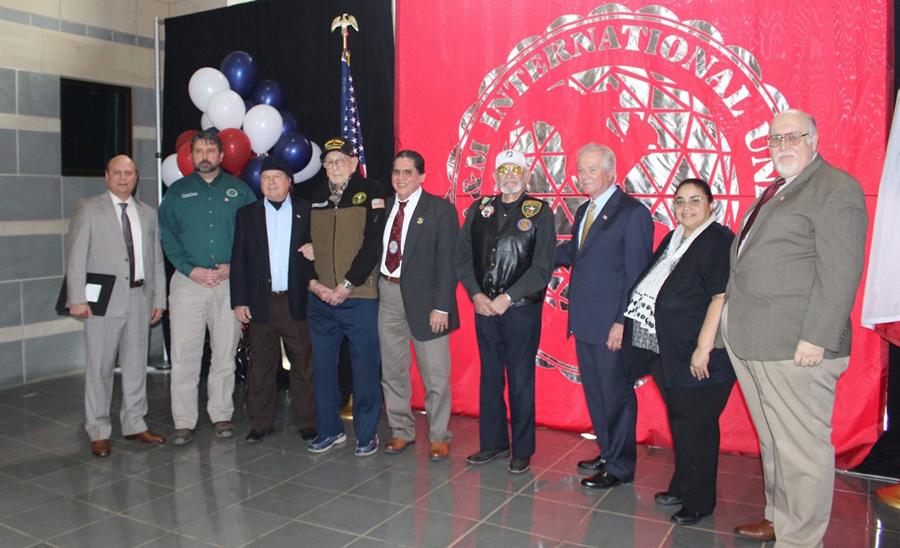 TAMIU Veterans gift