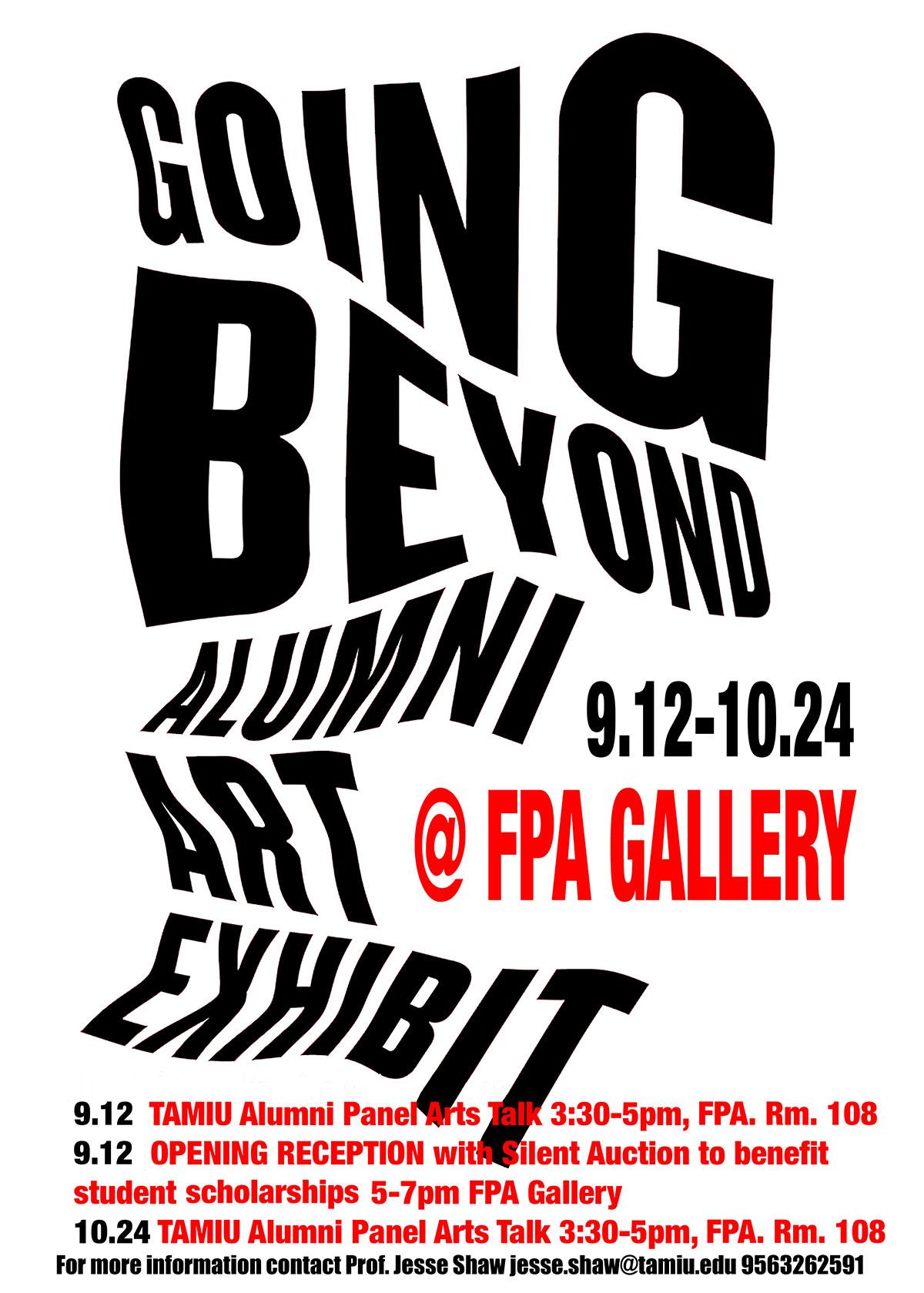 Going Beyond Exhibit Flyer