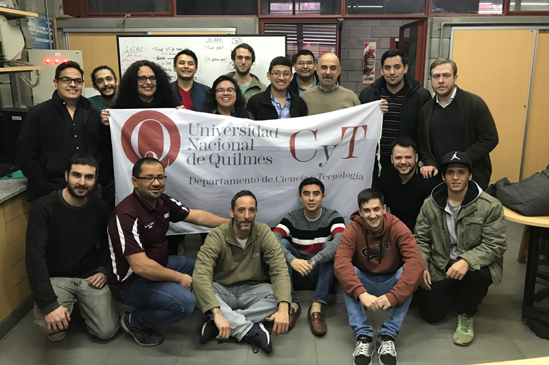 TAMIU students and faculty join their counterparts at the National University of Quilmes in Bernal City, Quilmes, Argentina.