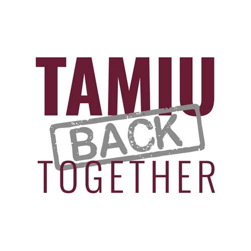 TAMIU Back Together Logo
