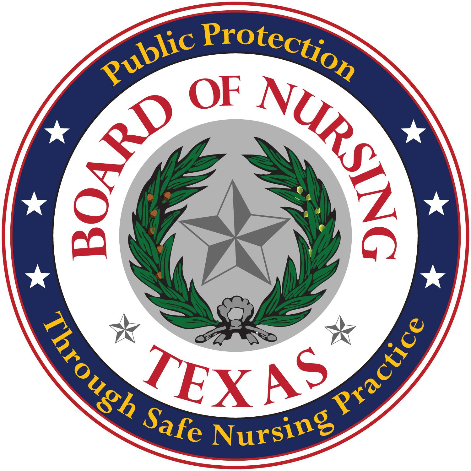 Texas Board of Nursing logo