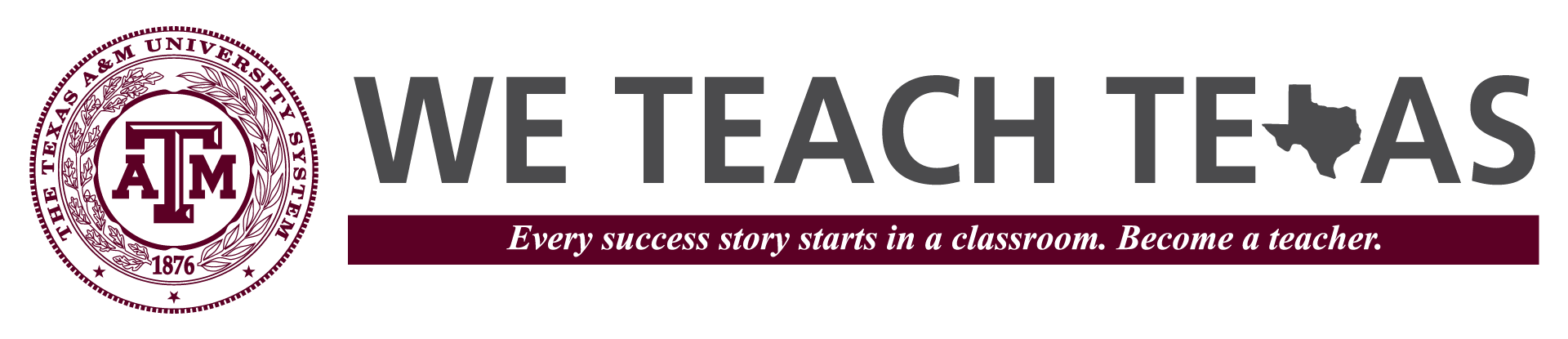 We Teach Texas logo