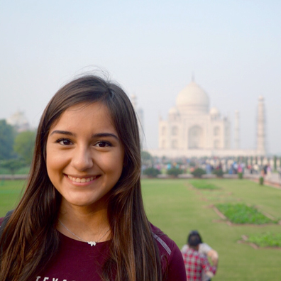 TAMIU student in India