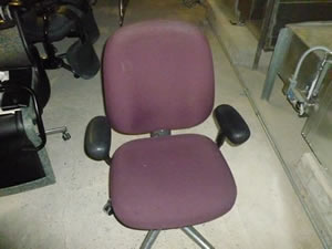 Maroon Office Chair