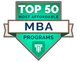 Top 50 Most Affordable MBA