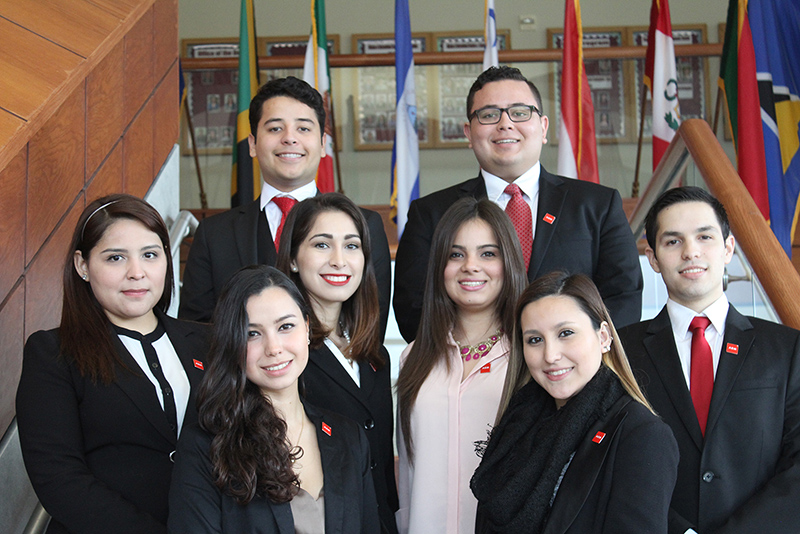 A. R. Sanchez, Jr. School of Business Students
