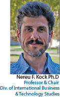 Dr. Ned F. Kock. Professor and Chair of DIBTS