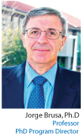 Dr.Jorge Brusa. Professor and  Ph.D. Director
