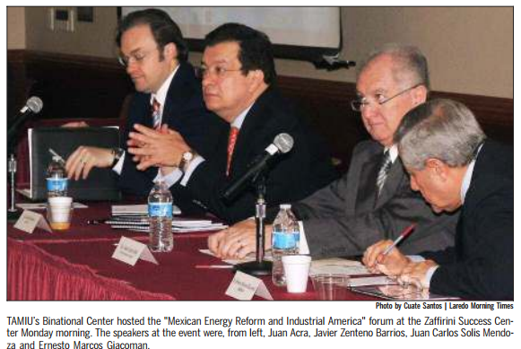 Speakers - Mexican Energy Reform