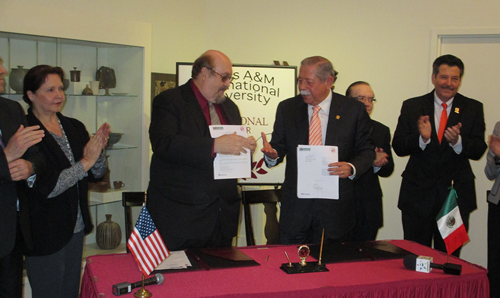 Signing of MOA with Governor of Tamaulipas
