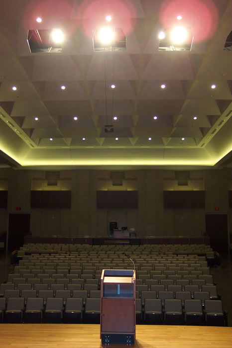 Recital Hall from Stage