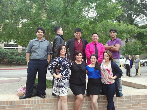 Communication Students at the 2012 International Public Debate Association National Convention and Competition