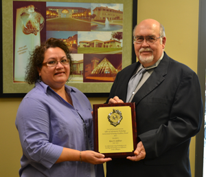 Dr. Rose Saldivar 2011 Award Recipient