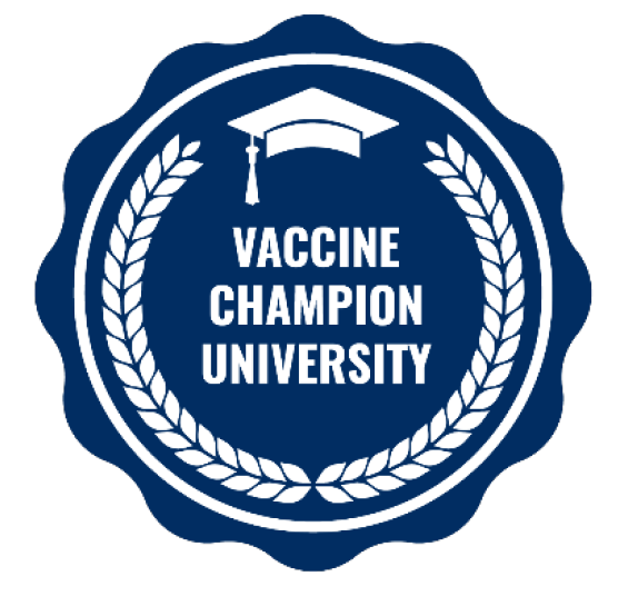Presidential Seal for COVID-19 College Vaccine Challenge