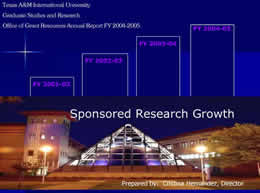 2004 Annual Report on TAMIU Sponsored Research Growth