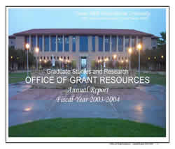 2003 TAMIU Office of Gran Resources Annual Report