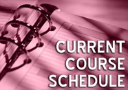 Current Course Schedule