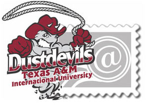 TAMIU Dustdevil  Mascot