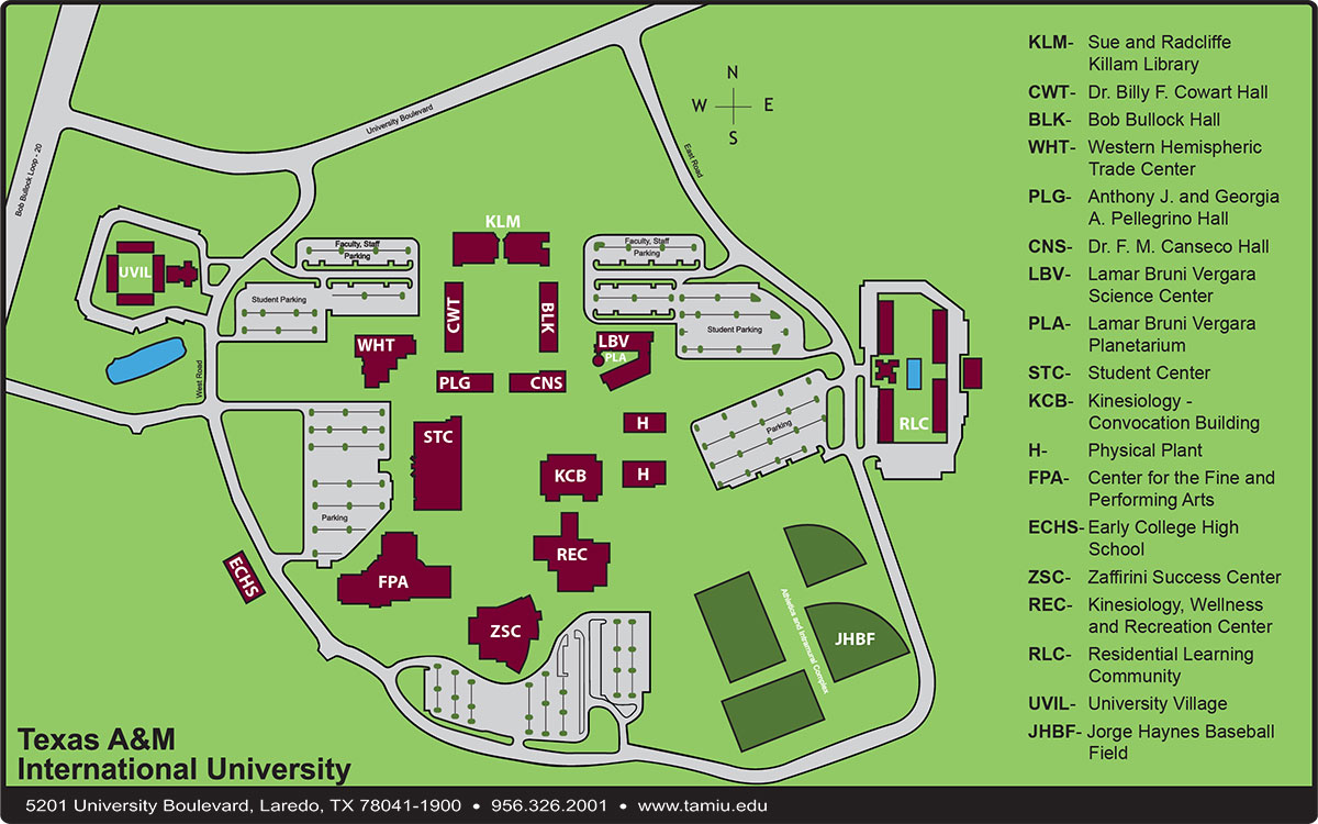 Tamiu Map