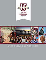 2014 President's Report Cover