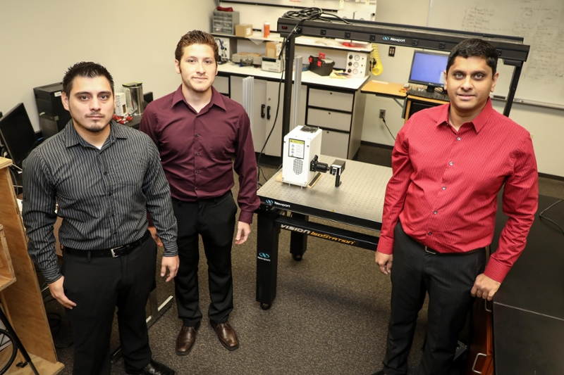 Rolando Villanueva and José Jara, both TAMIU seniors (systems engineering) and TAMIU Assistant Professor of Engineering Dr. Deepak Ganta published an article on their research on using aloe vera and cactus plant extracts to generate green energy.