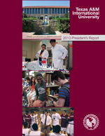 2010 President's Report Cover