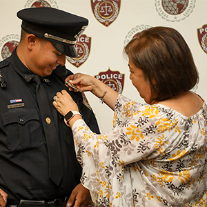 TAMIU Police Department Welcomes Three New Police Officers