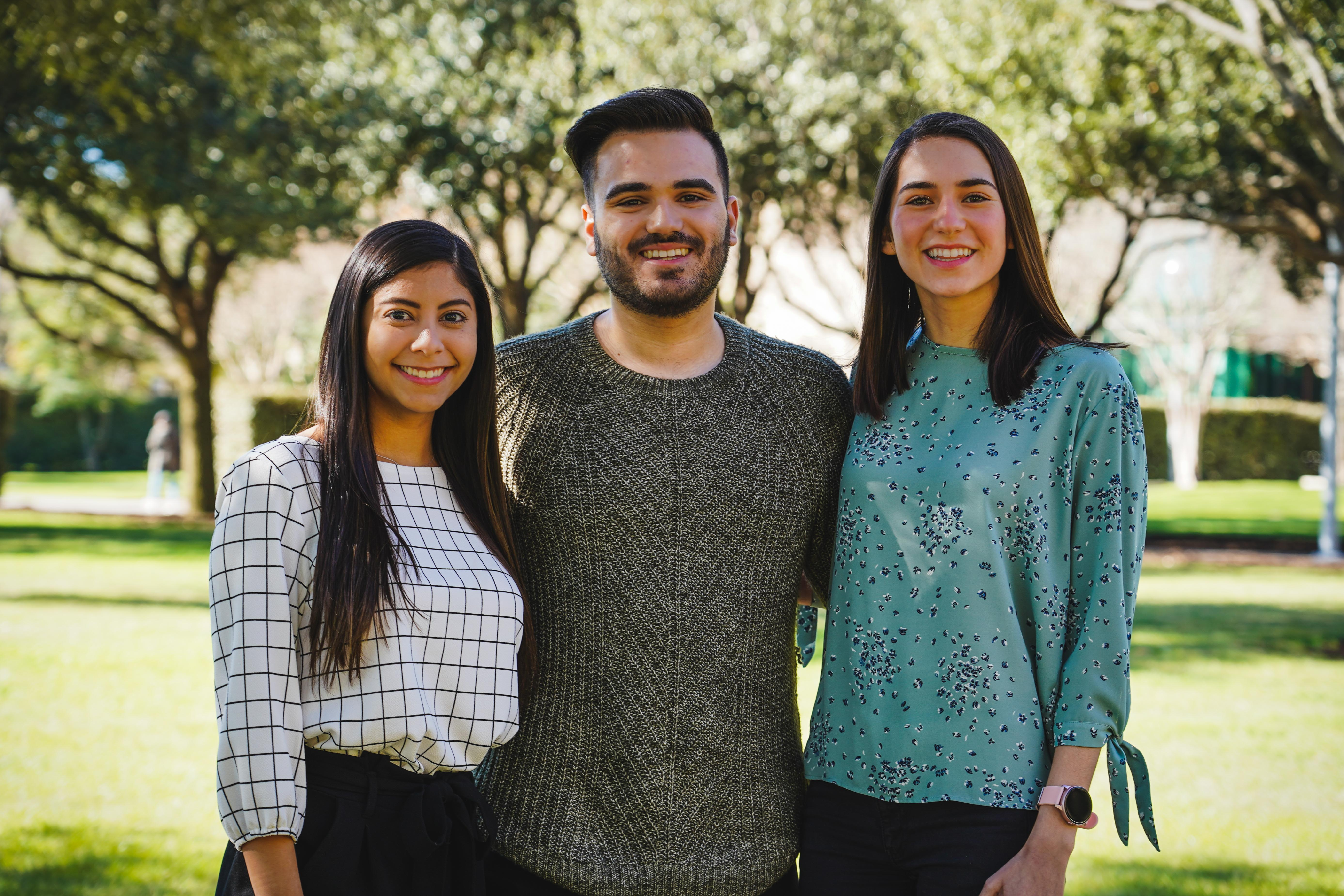 Three TAMIU Students accepted into School of Health Professions