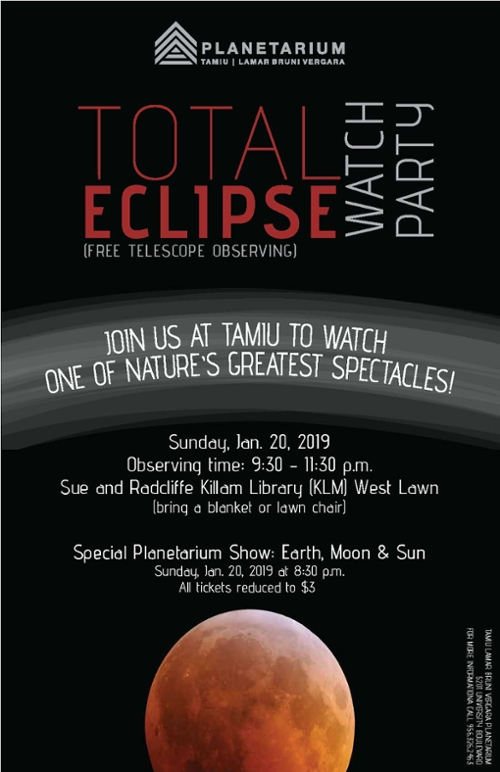 Total Eclipse Watch Party poster art