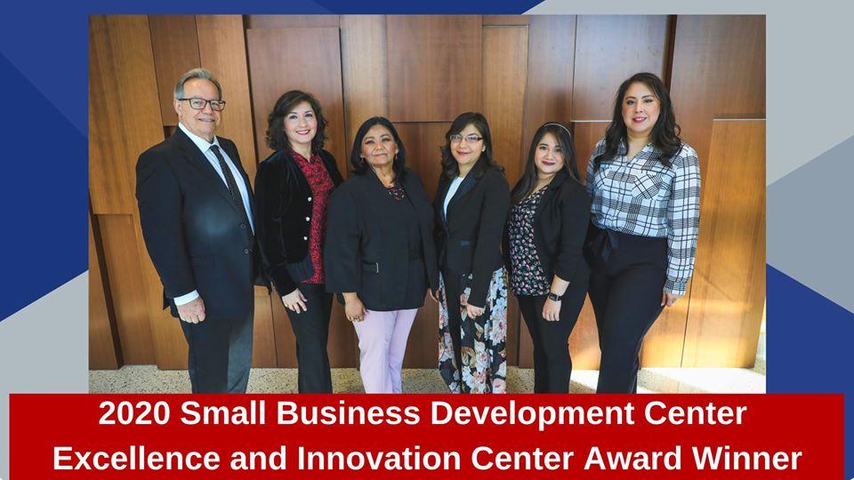 TAMIU's Small Business Development Center team