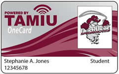 Sample of TAMIU OneCard