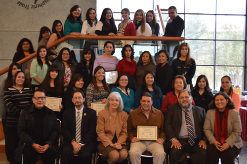 Plazas Comunitarias Recognition Ceremony