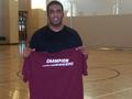 Badminton Singles Champion - Dinesh Moorjani