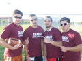 4x4 Flag Football Open Champions - Team BEAR