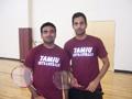 Badminton Doubles Men's Champions- Prasad V. & Rishi Errabally