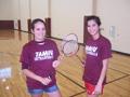 Badminton Doubles Women's Champions - Zunny Escobar & Angela Zoerner