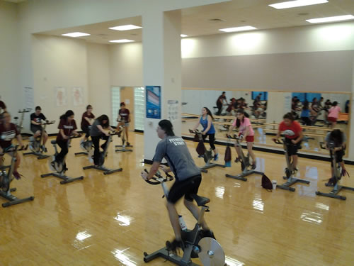 Power Spin Fitness Class