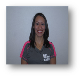 Sarah Herrera, fitness instructor