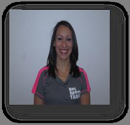 Sarah Herrera, fitness instructor